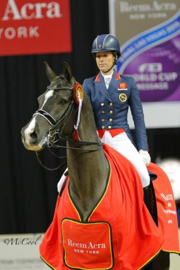 FEI Grand Prix winners Charlotte Dujardin of Great Britain and Valegro (Photo: (c) McCool Photography)