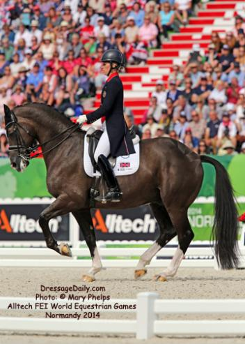 The dynamic duo of Charlotte Dujardin and Valegro (Photo: Mary Phelps)