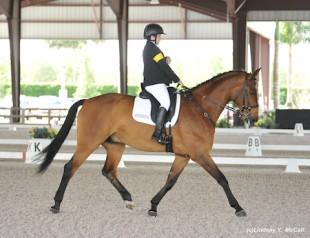 Sydney Collier and Willi Wesley at the 2014 Adequan Global Dressage Festival CPEDI3*. Photo by Lindsay Y. McCall