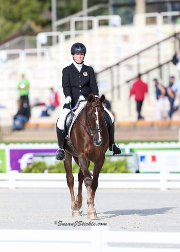 Roxanne Trunnell and Nice Touch. Photo copyright SusanJStickle.com
