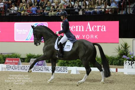 Charlotte Dujardin and Valegro make World Cup history in the Premier Areana