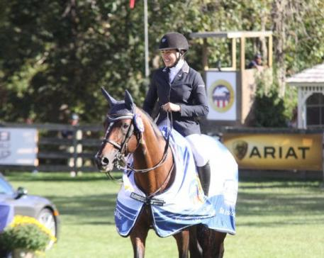 2013 American Gold Cup winner Brianne Goutal will be available to meet spectators. Photo by Carrie Wirth