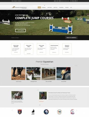 A Sneak Preview Of Premier Equestrians New Website HorseJumps.net Offered By Premier Equestrian.