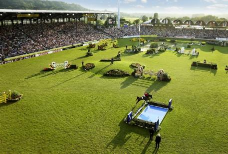The Main Stadium at the Aachen Soers. (Photo: CHIO Aachen/Strauch).