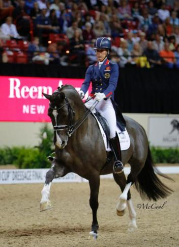 Charlotte Dujardin and Valegro (Photo: (c) McCool Photography)