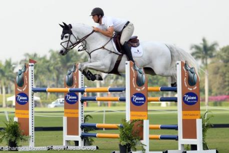 Alex Granato and Zenith Dance Win 1.30-1.35m Class during Week 11 of The Ridge at Wellington Turf Tour.