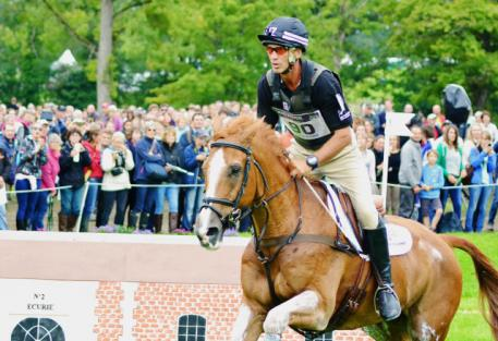 Andrew Nicholson and Nereo at WEG. Photo by Jenni Autry,