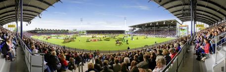 he Main Stadium of the CHIO Aachen (Photo: Rolex Grand Slam of Show Jumping/Andreas Steindl).