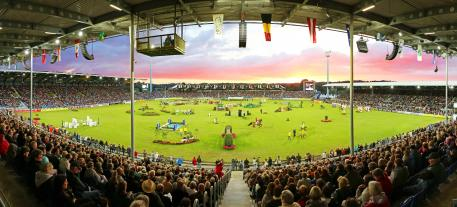 The Main Stadium of CHIO Aachen.