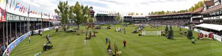 "the ""International Ring"" of Spruce Meadows"