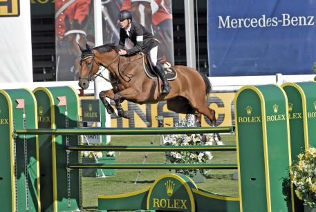 "Scott Brash and ""Hello Sanctos"" ""Cana Cup"" at the Spruce Meadows 'Masters' 2015"