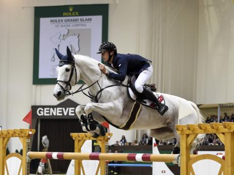 Ireland's top star, Betram Allen, who will also be competing at the CHI Geneva again this year