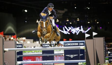 Bertram Allen, Quiet Easy 4, Longines Masters 2015 Los Angeles