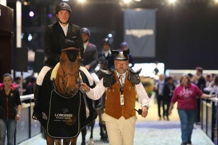 Benjamin Castildi and Carlito d'Es win the 1* class Invitational Trophy