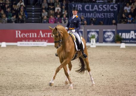 Adelinde Cornelissen (NED) and Jerich Parzival