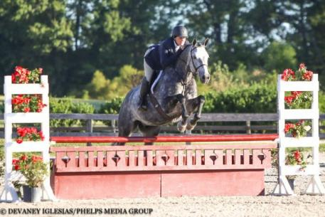 Alexandra Panetta, Gray Street, Quentin Fall Classic, $2,500 USHJA National Hunter Derby