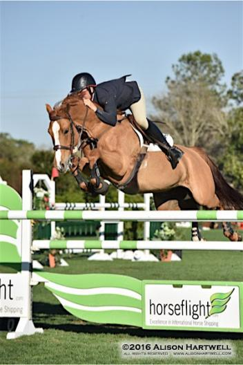 Andy Kocher pilots Ciana to the win in the 0,000 Horseflight Open Welcome yesterday at the Gulf Coast Winter Classic