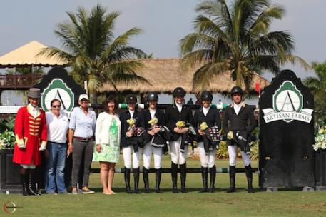 This year's Artisan Farms Under 25 Grand Prix Series will feature FEI competition.