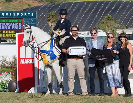 Ashlee Bond and Cornancer (in place of Ace of Hearts) with Brandon Seger of Markel, Robert Ridland, Melissa Brandes and Ashlee McGee of Heritage Bloom