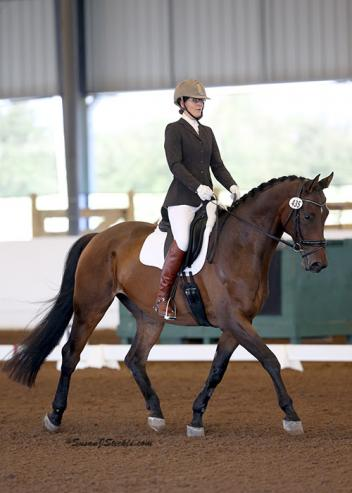 Ashlee Watts and Hampton are heading to the U.S. Dressage Finals after clinching the GAIG Training Level Test 3 title.