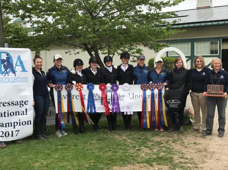 Four Collegiate Dressage Riders Are Now Riding In Style