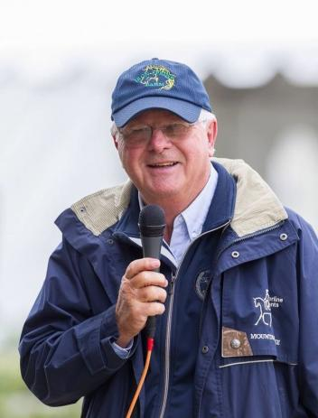 """Axel Steiner will be """"on the air"""" for this year's National Dressage Pony Cup on the USEF Network."""