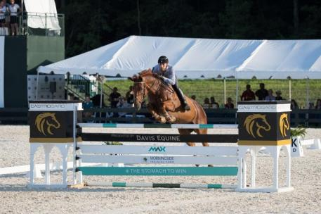 Bareback Puissance class, presented by Morningside Training Farm