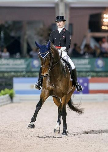 Belinda Trussell, Anton, AGDF, Grand Prix Freestyle, 2016