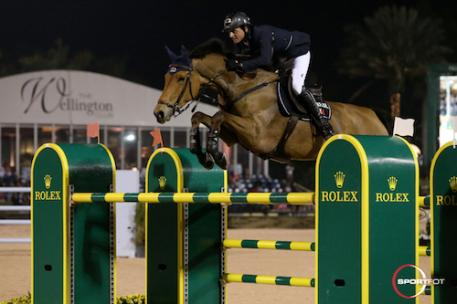 Ben Maher and Sarena