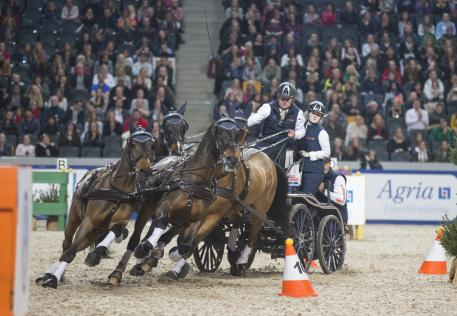 Boyd Exell (AUS) was in a class of his own during the second leg of the FEI World Cup™ Driving season in Stockholm