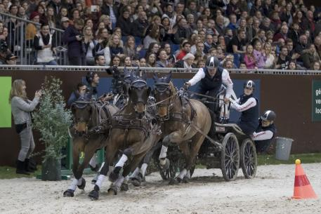 Boyd Exell (AUS) won the CAI-W Geneva for the 9th consecutive time