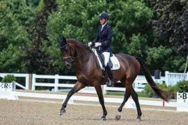 Carly Taylor-Smith and Rosalut NHF. Photo by Mary Adelaide Brakenridge.