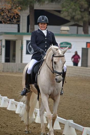 Caryn Carpenter-Cadez & Adonis enjoyed their experience as part of the Equine Insurance/CDS RAAC in the Southern Region. (Photo: Jennifer M. Keeler.)