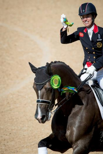 Individual dressage final charlotte dujardin and her for Charlotte dujardin