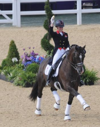 Charlotte Dujardin and Valegro (Photo: (c) JS Edwards)