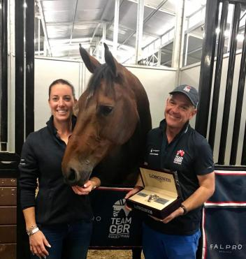 """When you win two beautiful LONGINES watches in two days; it was a pleasure to give one to Alan to share the success, given how much Alan and grooms like him do behind the scenes for all of us riders. As I've always said; team work makes all the dreams work."""