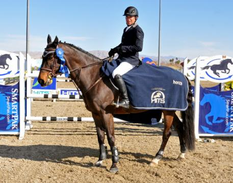 Chris Pratt and Cruise winning the $25,000 SmartPak Grand Prix