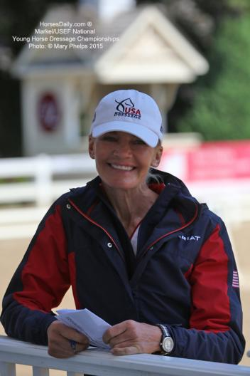 Christine Traurig - USEF National Young Horse and Developing Horse Coach