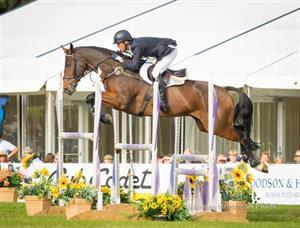 Clark Montgomery and Loughan Glen, Blenhiem Palace horse trials 2015