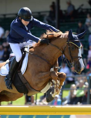 Conor Swail and Martha Louise won the $500,000 RBC Grand Prix, presented by Rolex