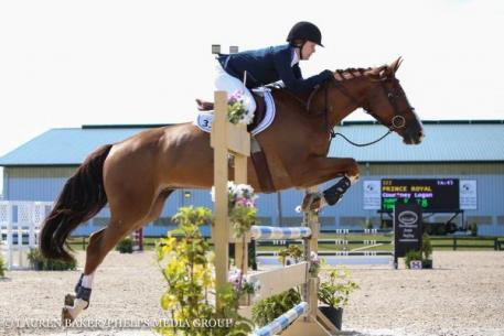 Courtney Logan, Prince Royal, Quentin Fall Classic, Jumper Classic
