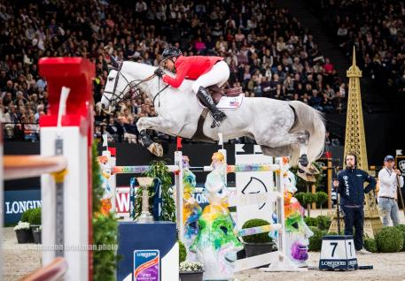 American Devin Ryan and Eddie Blue took second position at the Longines FEI World Cup Jumping Final.