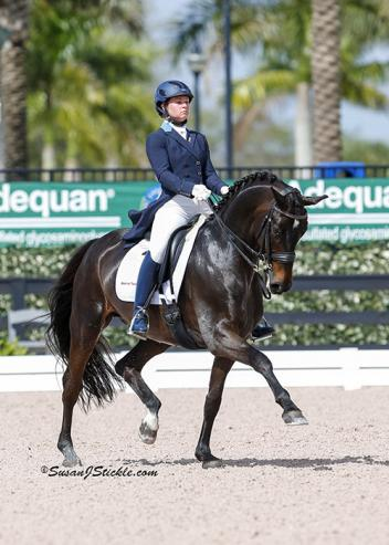 Devon Kane and Destiny qualified for the 2015 Grand Prix National Championships at the U.S. Dressage Festival of Champions presented by the Dutta Corp.