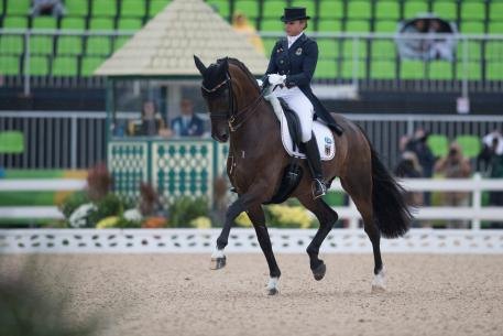 Dorothee Schneider (GER) and Showtime FRH (Photo: Dirk Caremans)