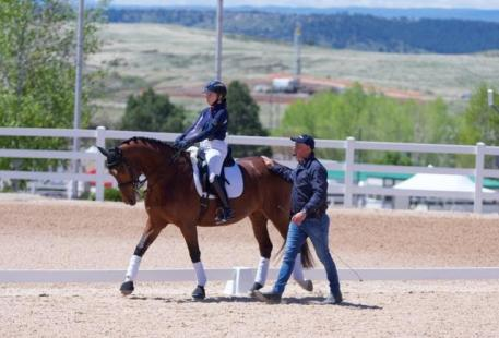 Riders and auditors spent five days learning from many of the world's top dressage riders, judges, and experts during the Dressage Symposium In The Rockies at  The Colorado Horse Park.
