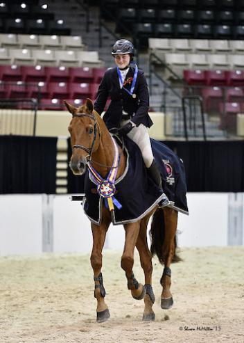 Devan Graham and Sandro Sky won the 2015 MHSA Gittings Horsemanship Finals.