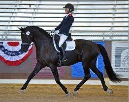 Elizabeth Landers, His Highness Crusado, US Dressage Finals, Adequan