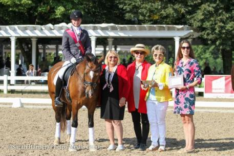 Ella Angelo, Here-be Seren Gwyn, Markel Young Horse Championships, USEF Dressage Seat Medal Final