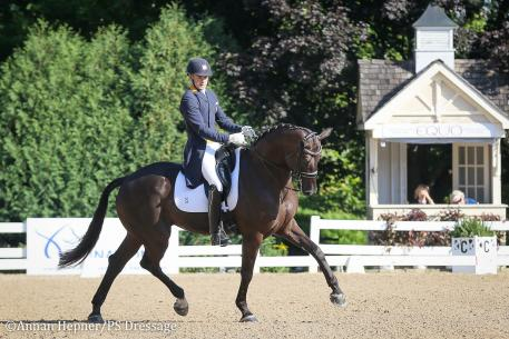 Endel Ots and Lucky Strike (Photo: Annan Hepner/PS Dressage)