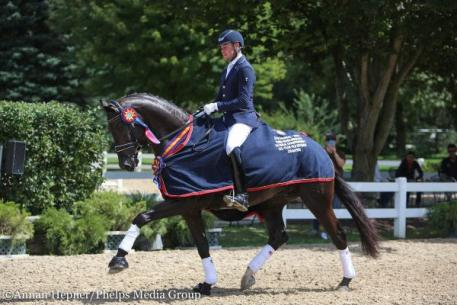 Endel Ots, Lucky Strike, Markel/USEF Young and Developing Horse Dressage National Championships